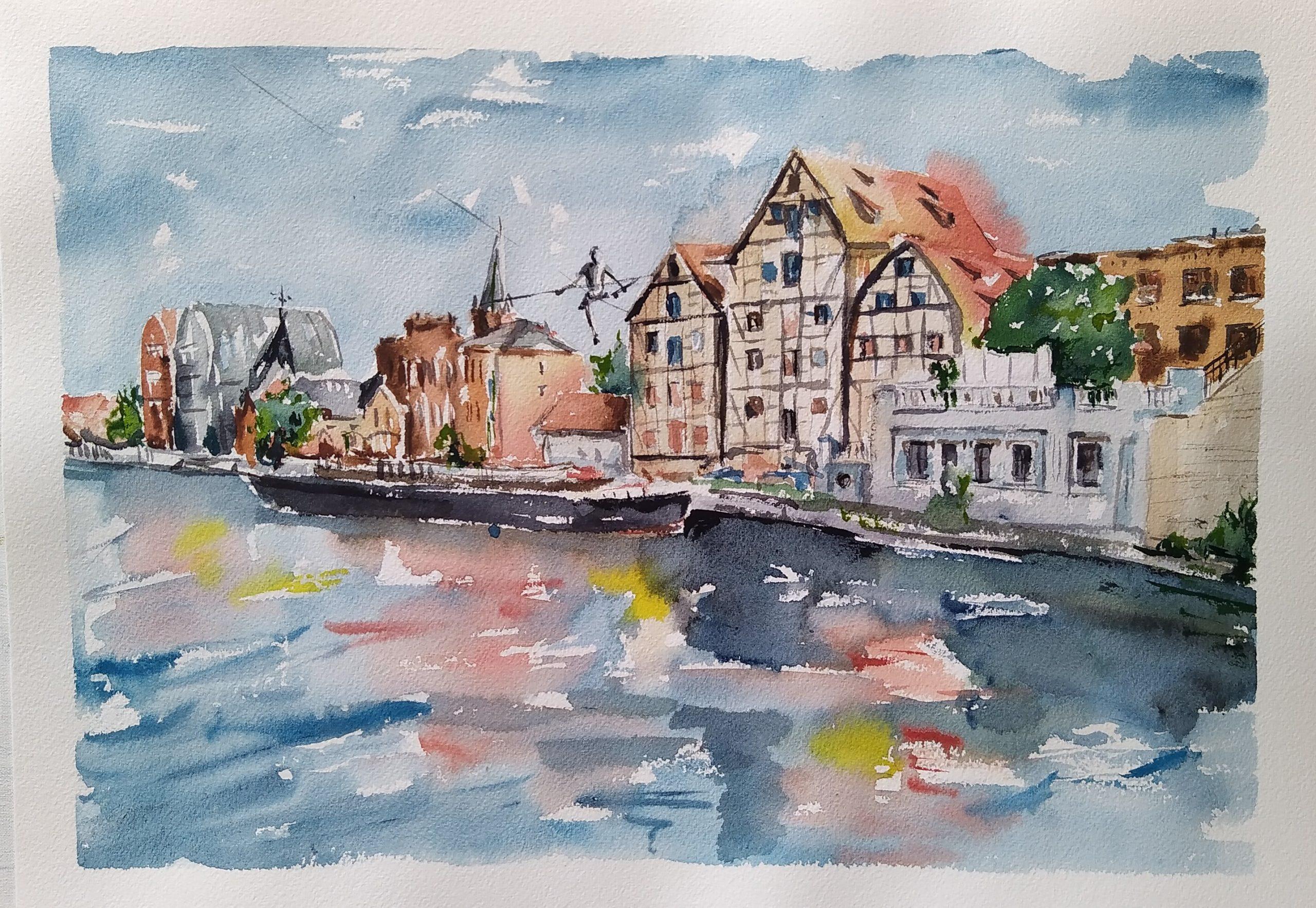 Bydgoszcz obraz na sprzedaż