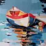 Obraz łódź