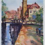Bydgoszcz akwarela